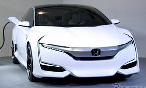 Honda FCV ใหม่ รถคันนี้ไม่ต้องใช้น้ำมัน!!