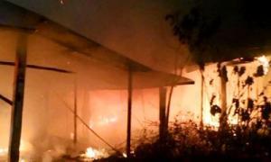 หลาน 5 ขวบ ฝ่าเพลิงช่วยตาอัมพาต ไฟคลอกดับคู่