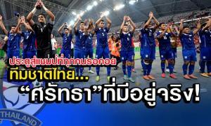 ทีมชาติไทย กับ ศรัทธาที่มีอยู่จริง!