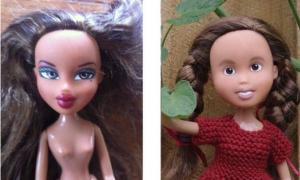แปลกดี! จับตุ๊กตามาเปลี่ยนโฉมเป็นลุคใสๆ