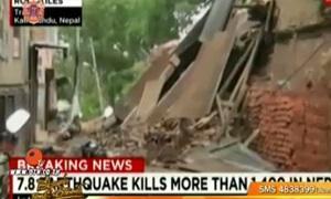 อัพเดต แผ่นดินไหวเนปาล ตายเกิน 1900 ศพ